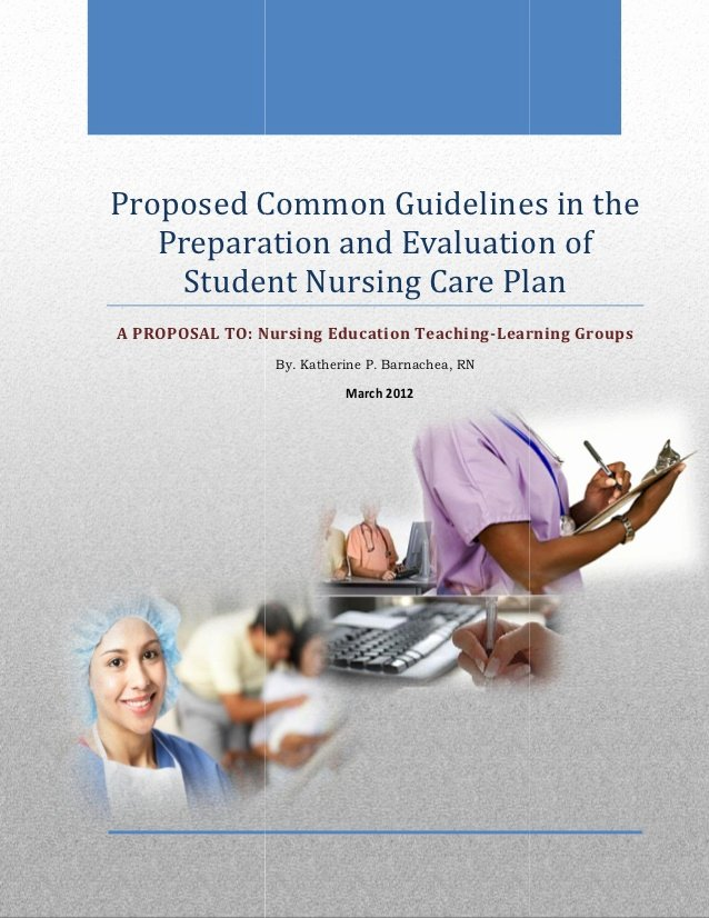 Teaching Plan Nursing Elegant Proposed Mon Guidelines In the Preparation and