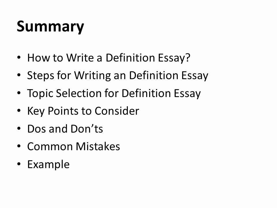 Team Player Definition Essay Lovely Lecture 9 Definition Essay Ppt Video Online