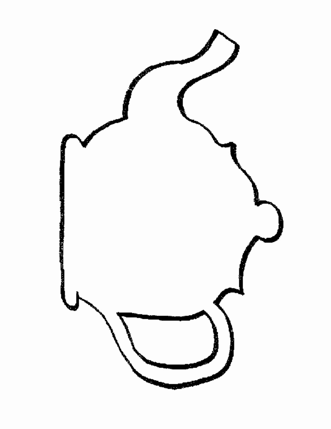 Teapot Template Free Printable Fresh Printable Teapot Cut Out – Ezzy