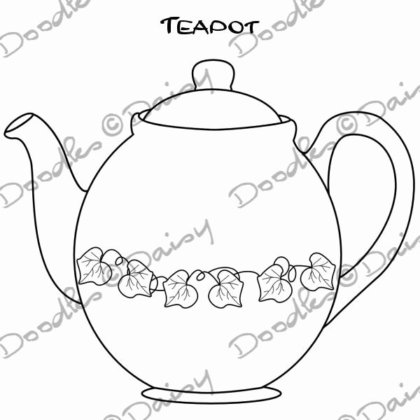 Teapot Template Printable Awesome Teapot Template Printable Cake Ideas and Designs