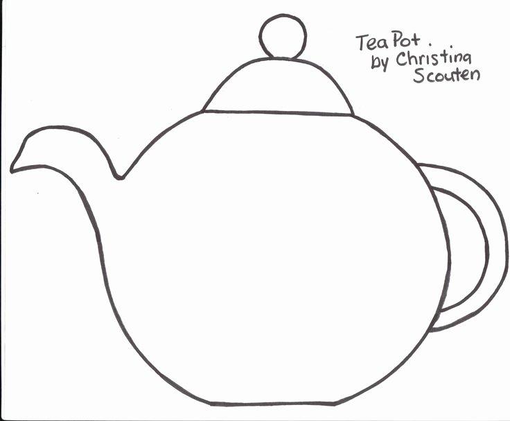 Teapot Template Printable Lovely 48 Best Art Templates Images On Pinterest