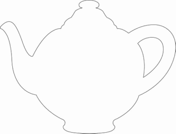 Teapot Templates Free Printable Awesome Mothers Day Teapot Card Template – Im A Little Teapot