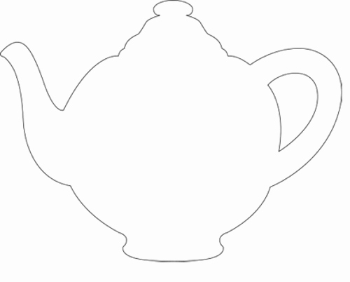 Teapot Templates Free Printable Awesome Teapot Stencil Google Search