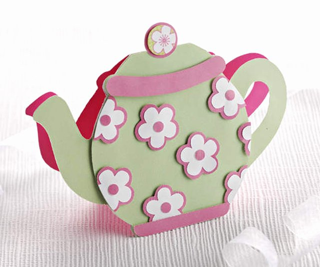 Teapot Templates Free Printable Lovely How to Make A Teapot Card Papercraft Inspirations