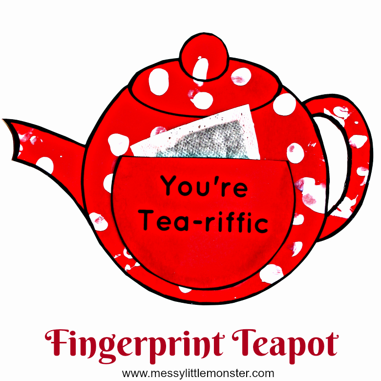 Teapot Templates Free Printable Lovely You Re Tea Riffic Teapot Craft Free Printable Teapot