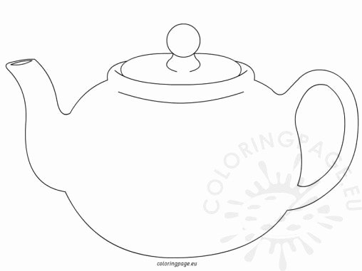 Teapot Templates Free Printable Luxury Teapot