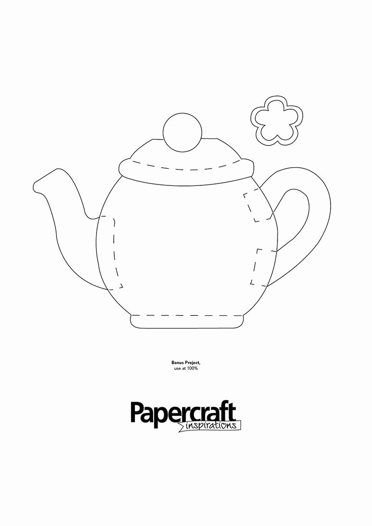 Teapot Templates Free Printable New 27 Best Templates Images On Pinterest