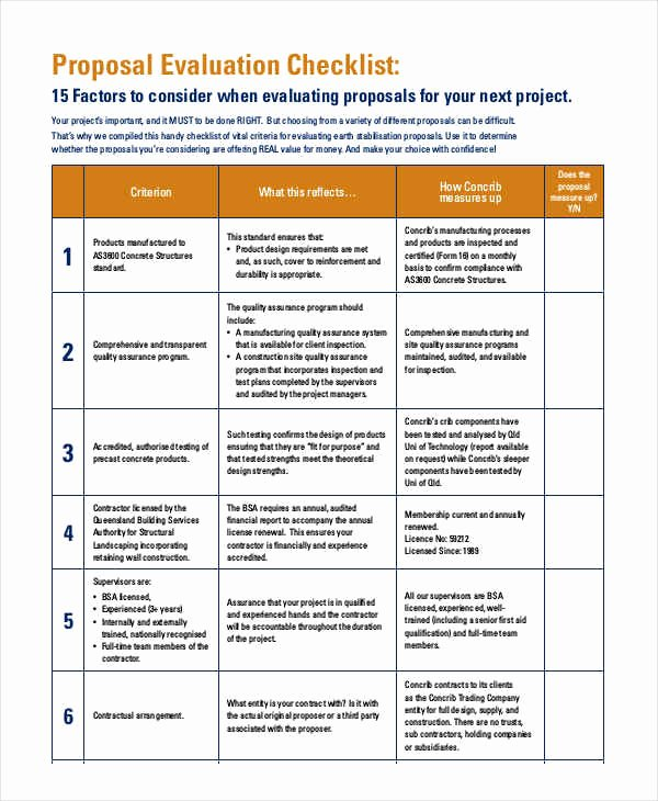 Technical Evaluation Criteria Template Elegant Marketing Outreach Develop Evaluation Plans
