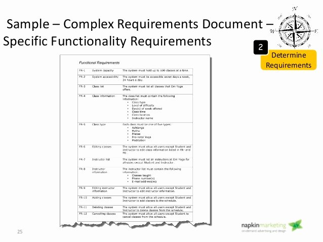 Technical Requirements Template Awesome Website Technical Requirements Document Template