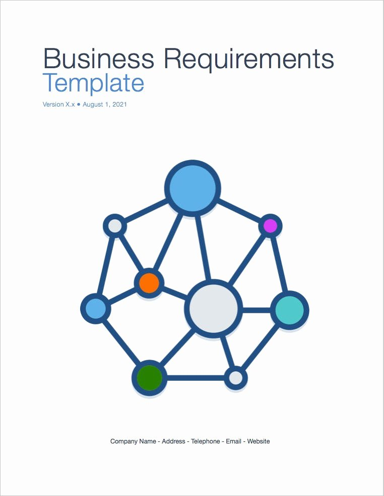 Technical Requirements Template Lovely Business Requirements Template Apple Iwork Pages Numbers