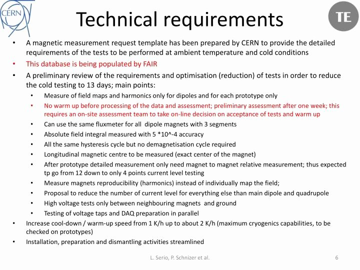 Technical Requirements Template Lovely Ppt Operation Phase Technical Requirements Testing Plan