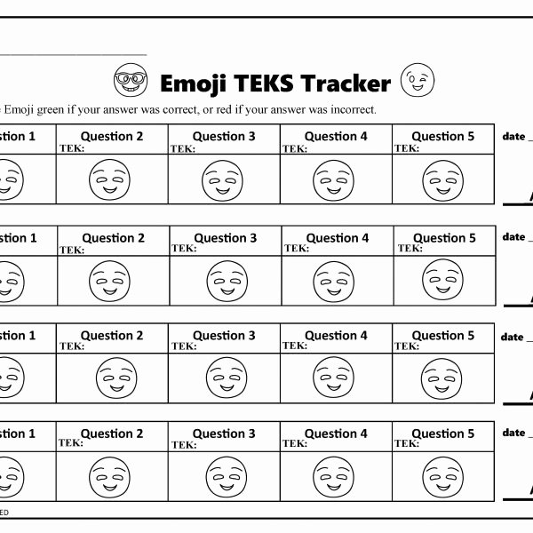 Teks Lesson Plan Template Awesome Data Tracker Teks Tracker Ignited