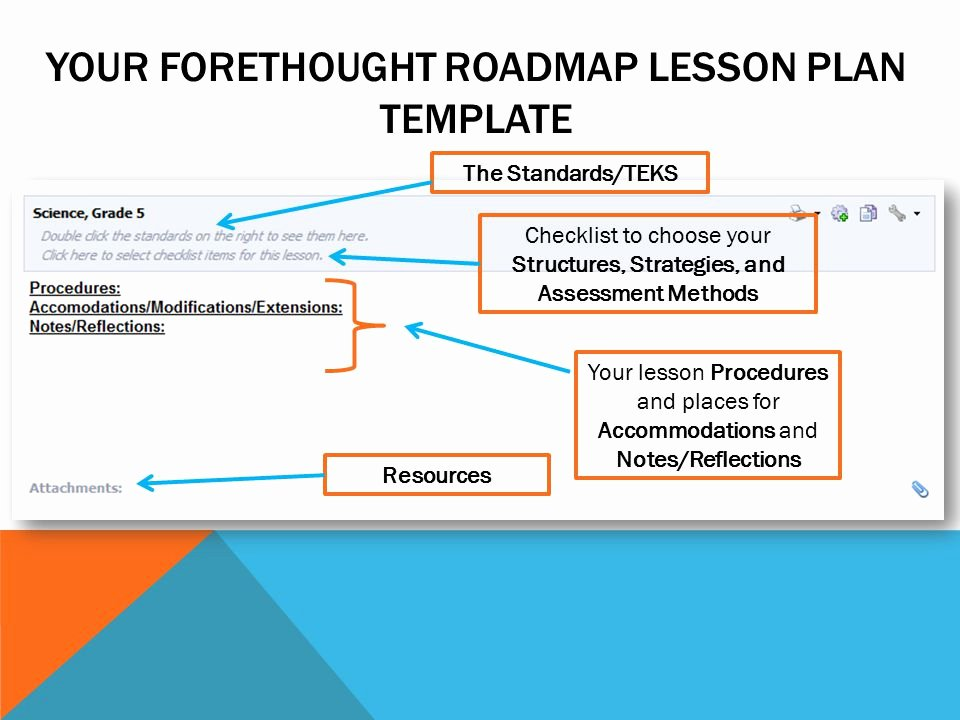 Teks Lesson Plan Template Best Of Eduphoria forethought Ppt Video Online