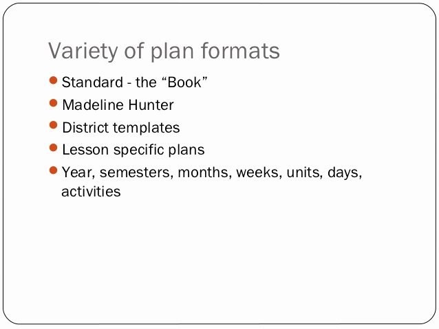 Teks Lesson Plan Template Elegant Lesson Planning & assessment