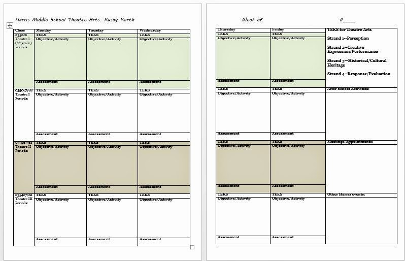 Teks Lesson Plan Template Lovely Running Down A Dream Create Your Own Lesson Plan Book