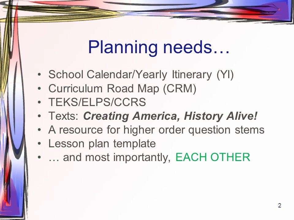 Teks Lesson Plan Template Unique 6th 6 Weeks U S History 8th Grade Ppt
