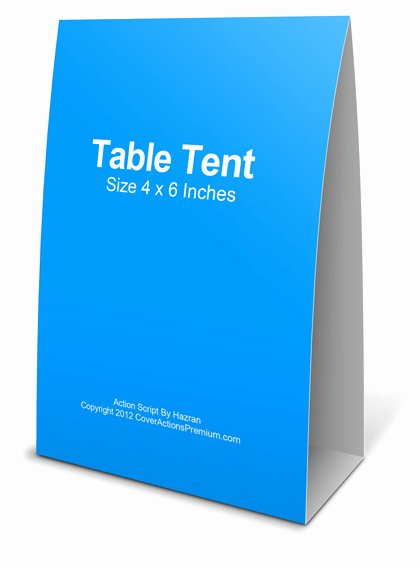 Tent Card Template 6 Per Sheet Fresh Table Tent Mockup Action Script