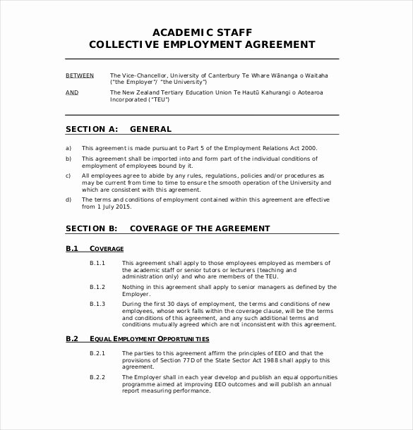 Terms Of Agreement Sample Beautiful 32 Employment Agreement Templates – Free Word Pdf format