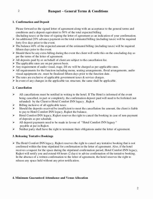 Terms Of Agreement Sample Fresh Letter Of Agreement Bqt