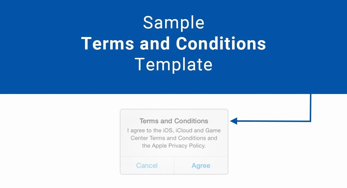 Terms Of Agreement Sample Inspirational Sample Terms and Conditions Template Termsfeed