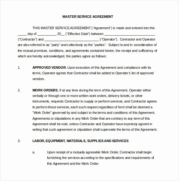 Terms Of Agreement Sample New 23 Contract Agreement Templates – Word Pdf Pages