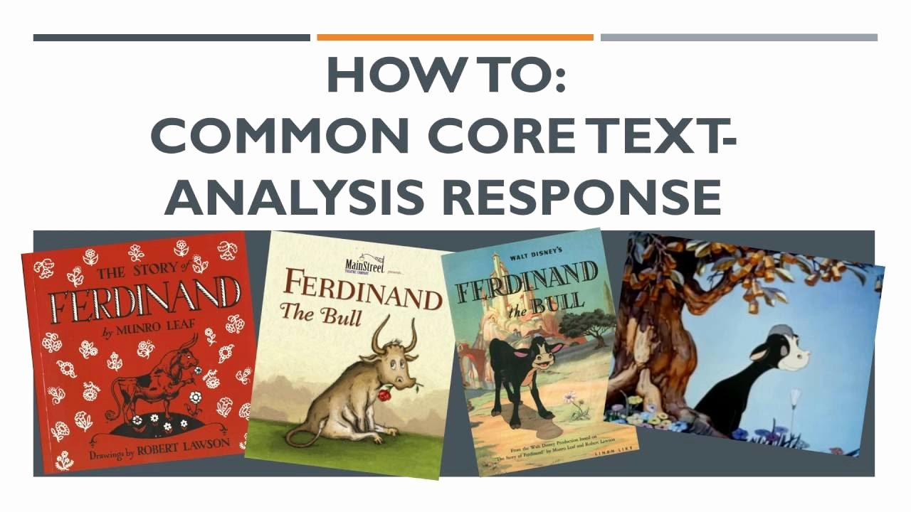 Text Analysis Response Examples New How to Mon Core Text Analysis Response