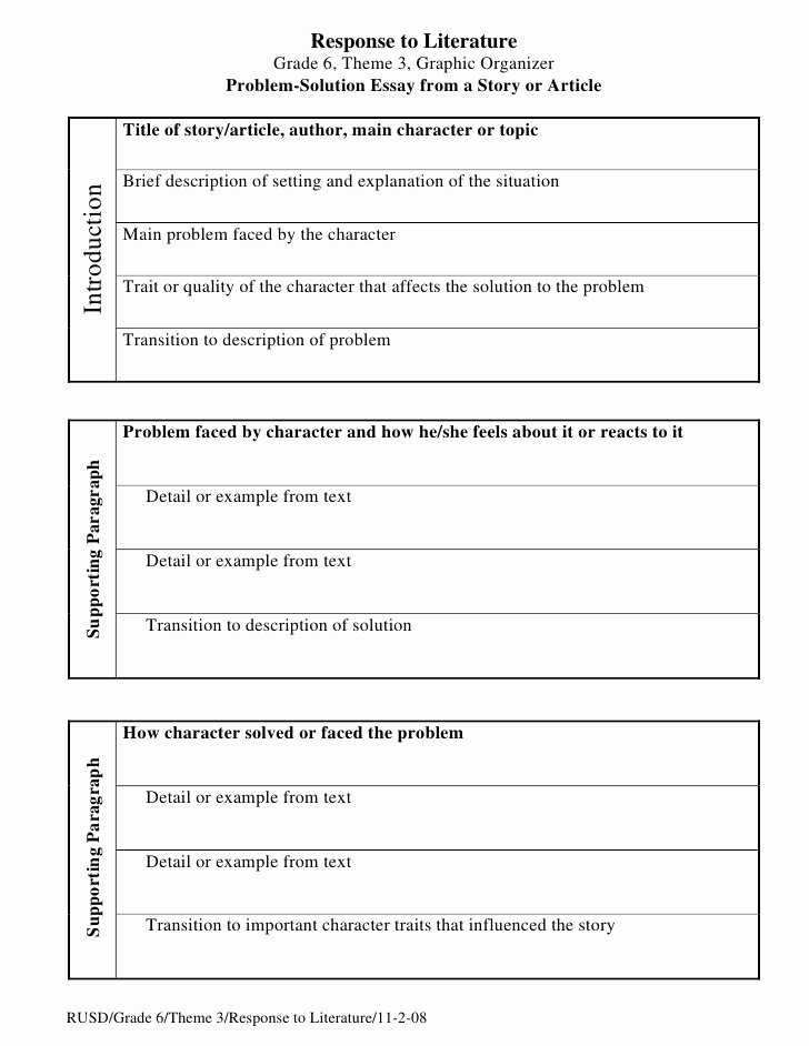 Text Analysis Response Examples Unique Problem solution Essay organizer