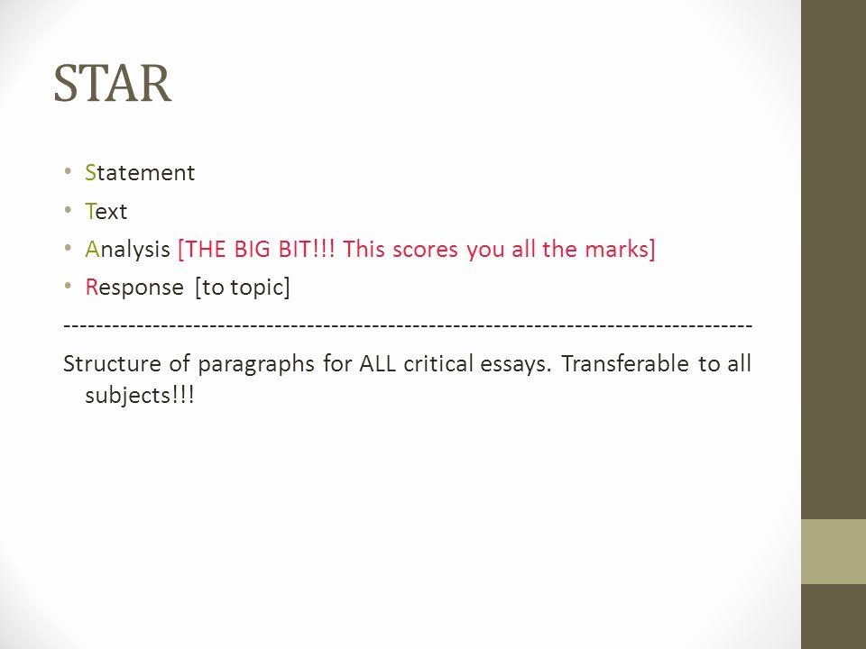 Text Analysis Response Outline Elegant Critical Response Essay How to