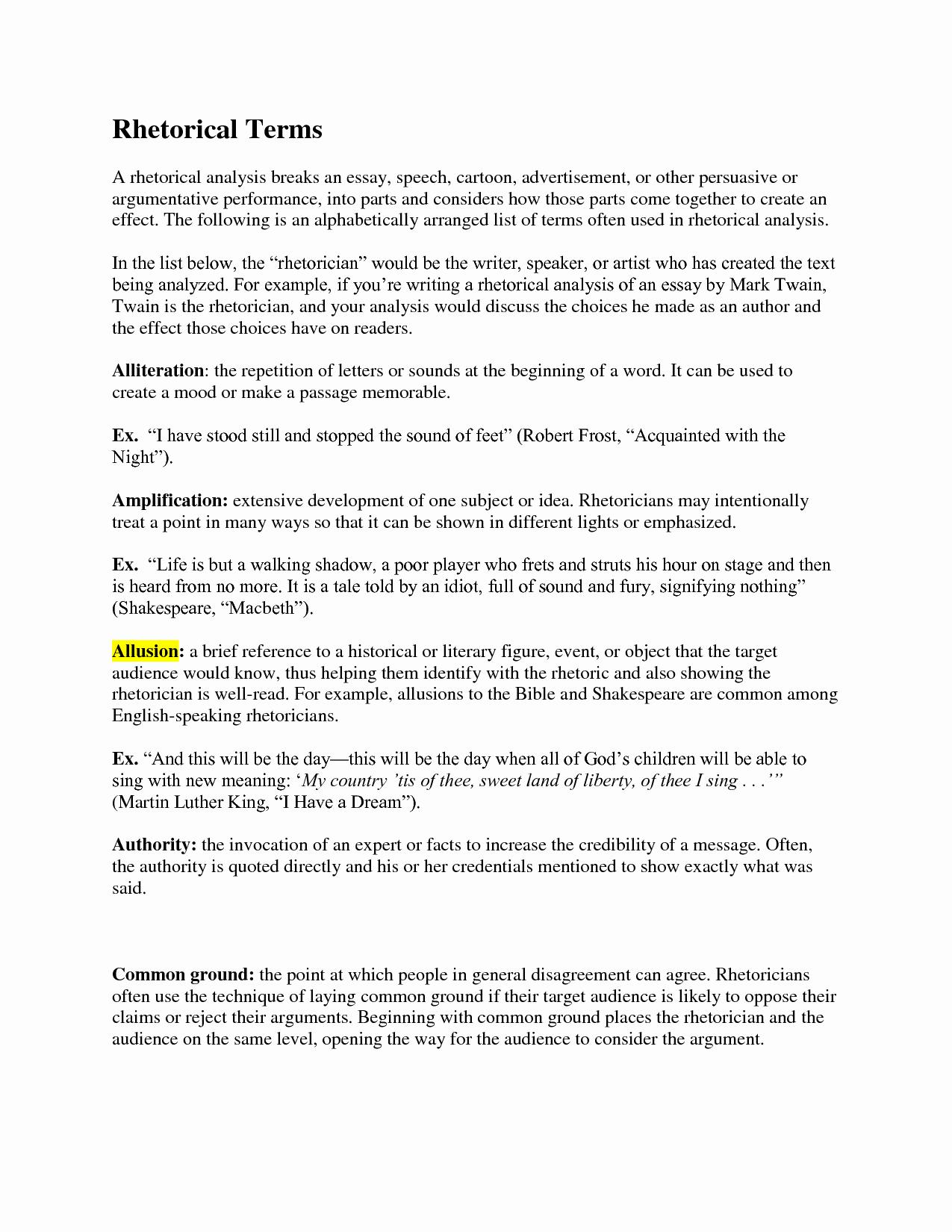 Text Analysis Response Outline Fresh Speech Analysis Template