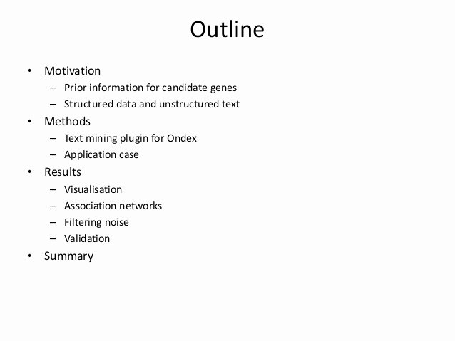 Text Analysis Response Outline Lovely Enhancing Data Integration with Text Analysis to Find