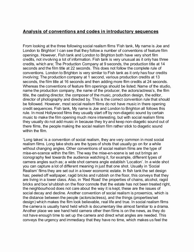 Text Analysis Response Outline Lovely Text Genre Analysis Essay