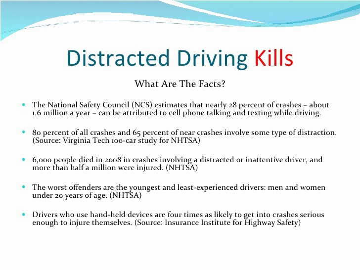 Texting and Driving Research Paper Lovely Literature Review On Distracted Driving