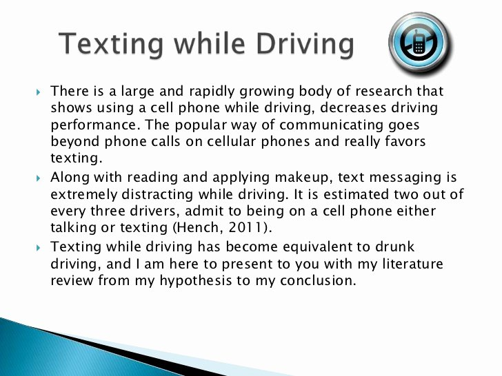 Texting and Driving Research Paper Luxury Texting while Driving Argumentative Essay Argumentative