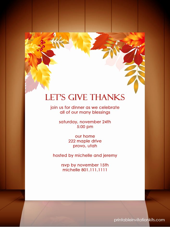 Thanksgiving Closed Sign Template Best Of Thanksgiving Dinner Autumn Invitation Template ← Wedding