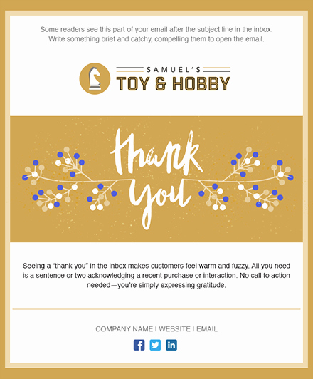 Thanksgiving Closed Sign Template Inspirational 11 Holiday Email Templates for Small Businesses & Nonprofits