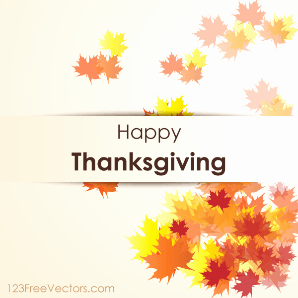 Thanksgiving Closed Sign Template Inspirational Happy Thanksgiving Day Vector Background