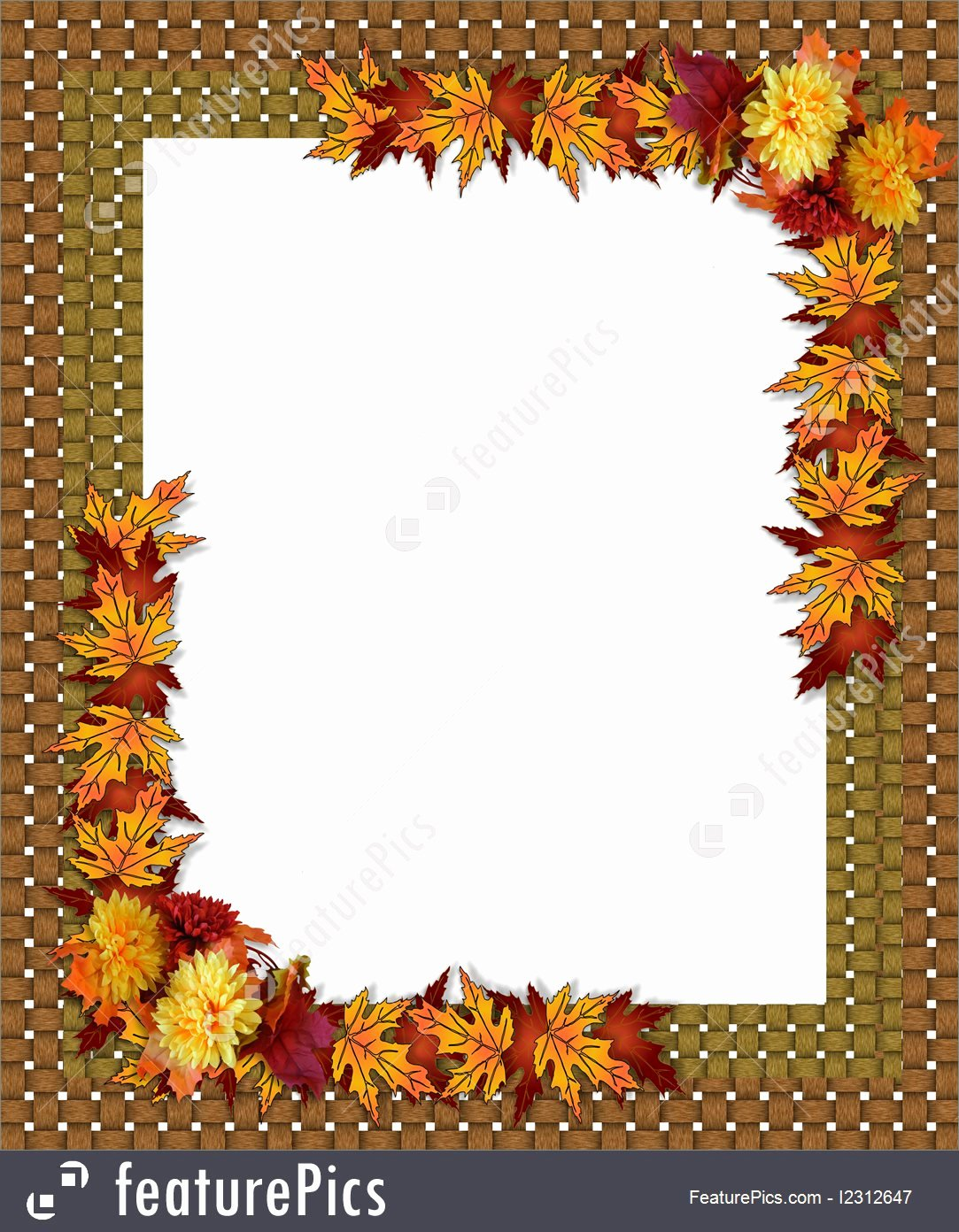 Thanksgiving Closed Sign Template Unique Fall Flower Thanksgiving Borders – Festival Collections