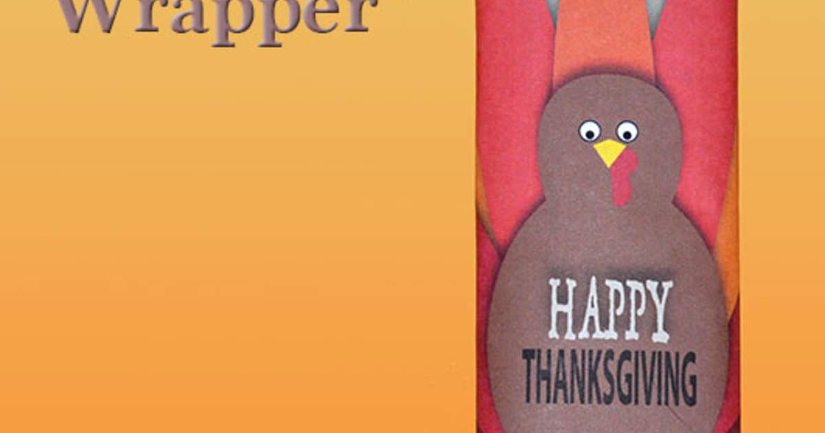 The Craft Chop Best Of Thanksgiving Candy Wrapper