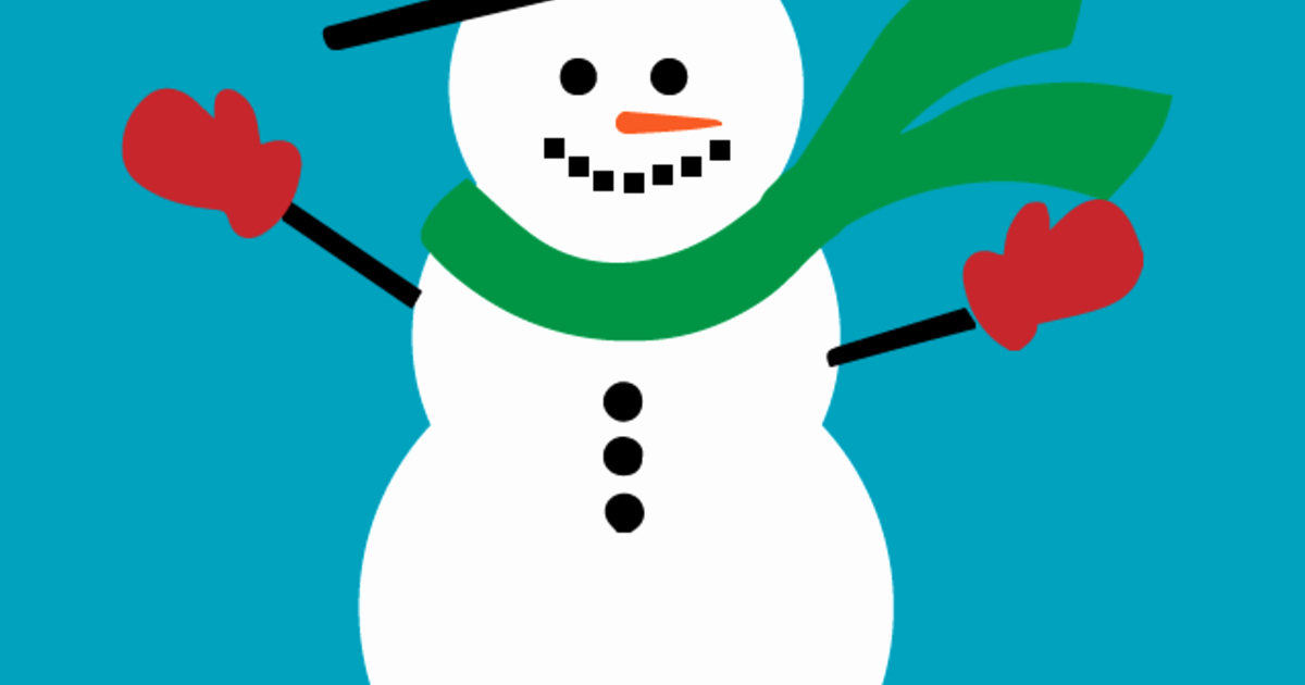The Craft Chop Lovely Tags Snowman