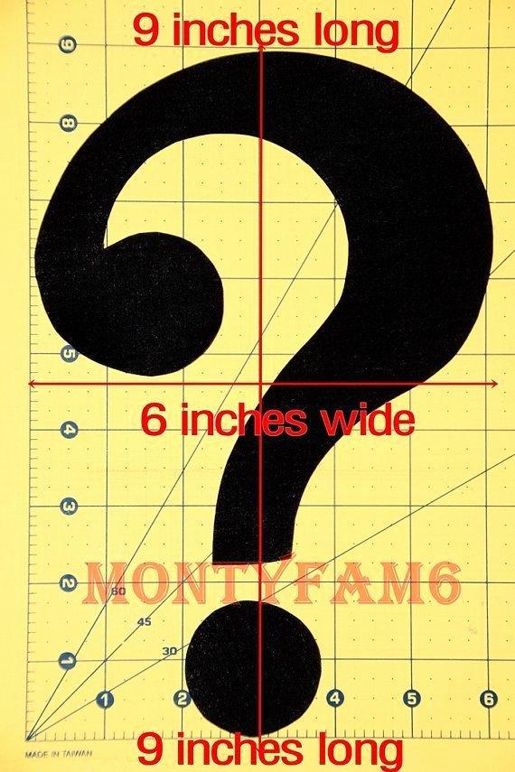 The Riddler Question Mark Template Fresh Riddler Question Mark Template Free Download Printable