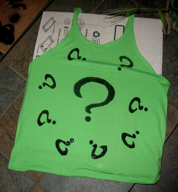 The Riddler Question Mark Template Inspirational Kim Kasch Blogsite A Writer S Blog Costume Part Ii