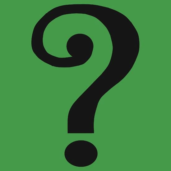 The Riddler Question Mark Template New Vintage Riddler Question Mark
