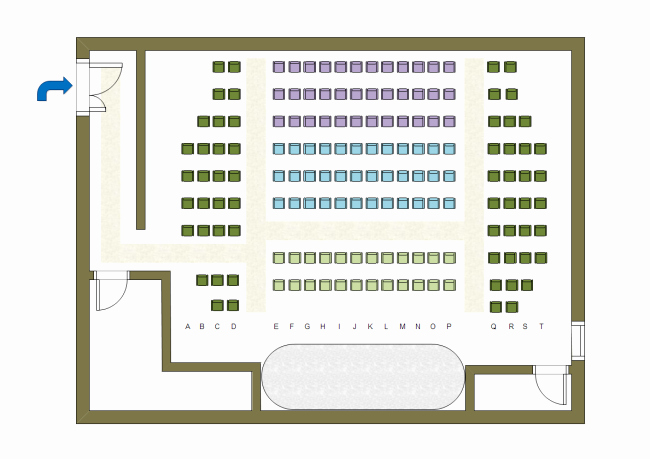 Theatre Program Template Awesome Floor Plan Examples