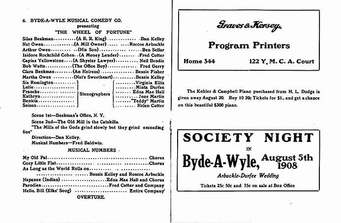 Theatre Program Template Awesome theater Program Template