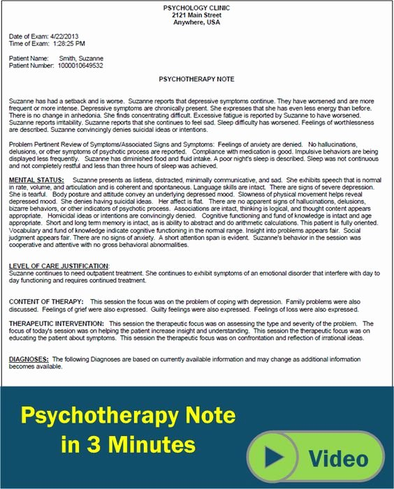 Therapy Progress Note Template Free Inspirational Pinterest • the World's Catalog Of Ideas