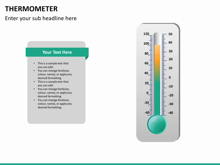 Thermometer Chart Powerpoint Awesome Powerpoint thermometer Template