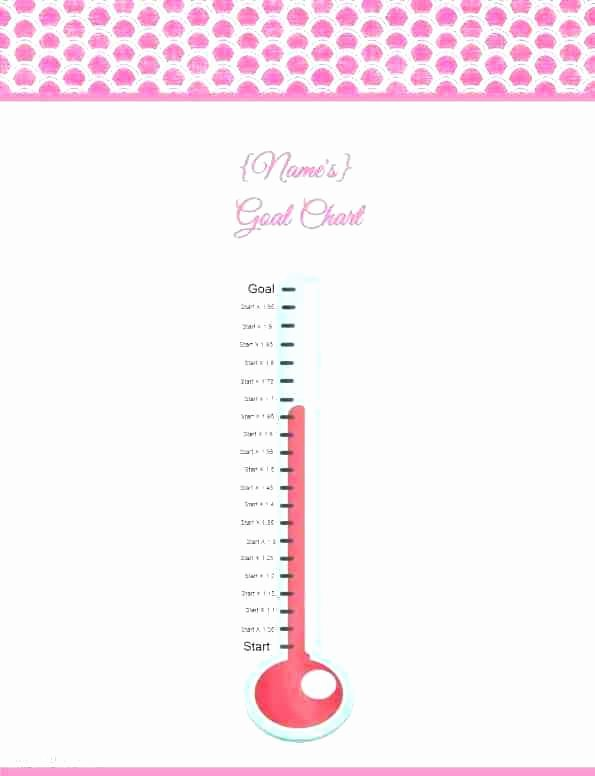 Thermometer Chart Powerpoint Elegant Animated Goal Chart Template for Powerpoint