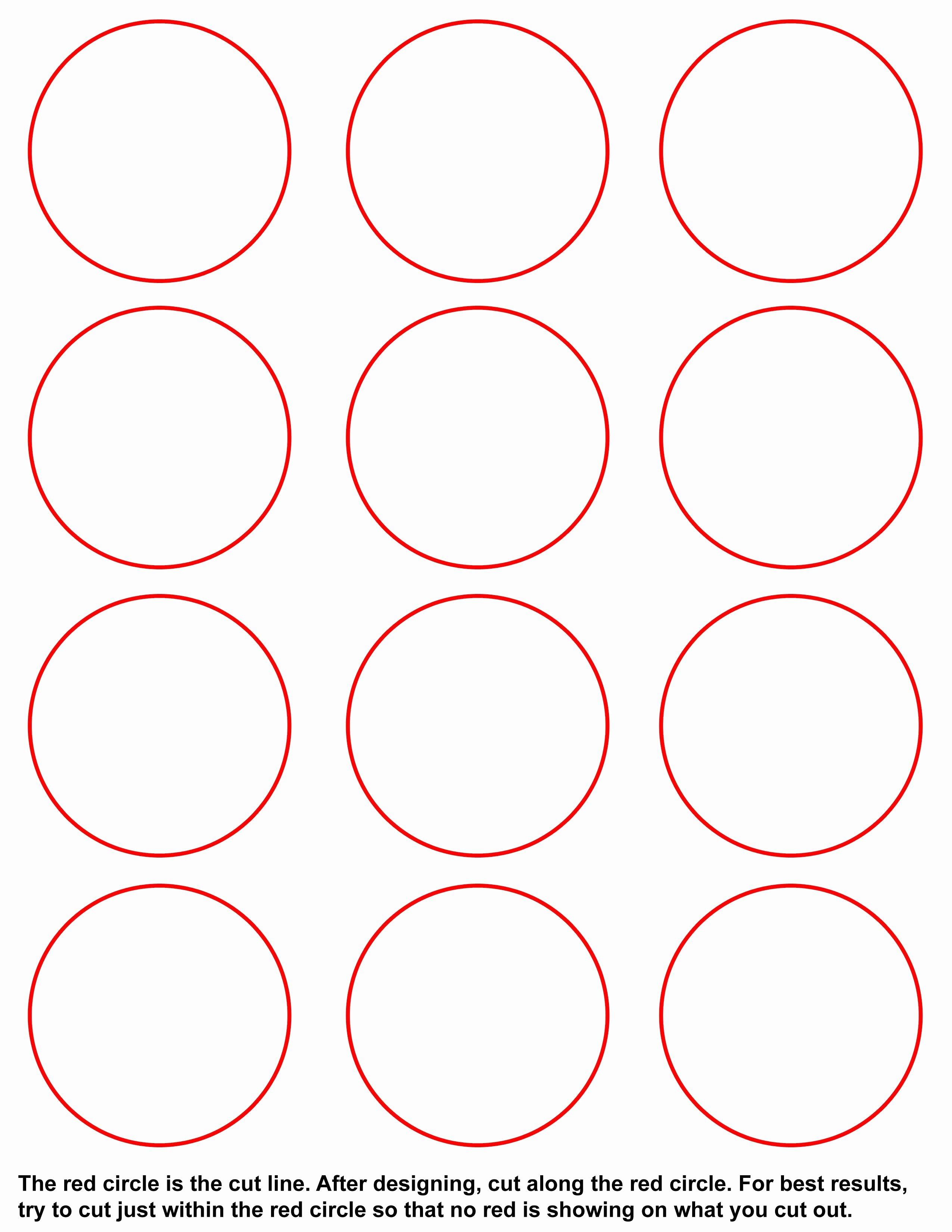 Three Inch Circle Template Beautiful Templates – Umakebuttons