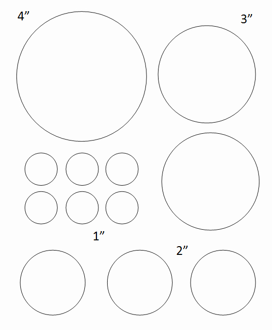 Three Inch Circle Template Lovely Free Printable Circle Templates – & Small Stencils