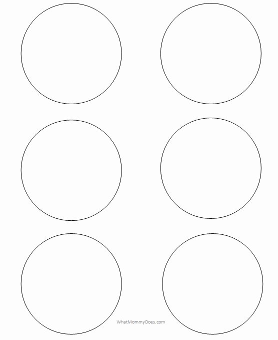 Three Inch Circle Template Luxury Free Printable Circle Templates and Small Stencils